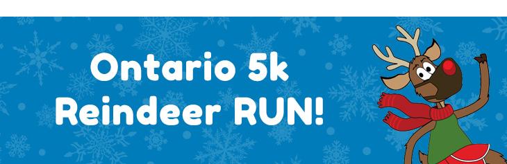 Ontario 5K Reindeer Run