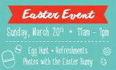 Hop on over to our Easter Event!
