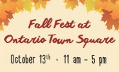 Fall Fest Offers Free Family Fun!