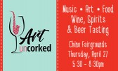 Eat, Drink and Be Merry at Art Uncorked
