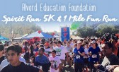 Lace Up for the Alvord Educational Foundation Spirit Run!