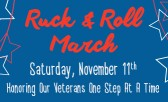 Honor our Veterans at the Ruck & Roll March November 11th