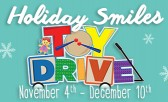 Make a Difference and Participate in the Holiday Smiles Toy Drive