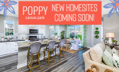 New Homesites Coming Soon to Poppy at Canvas Park!