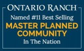 Ontario Ranch Ranks #11 among the Nation's Best-Selling Master Plans