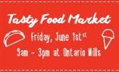 The Tasty Food Market is Happening!