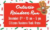 Don't Miss the 6th Annual 5K Reindeer Run and Rudolph's Dash