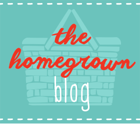 Our homegrown blog